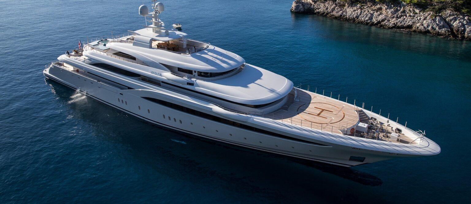 O'PTASIA mega yacht