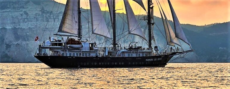RUNNING ON WAVES Sailing Yacht