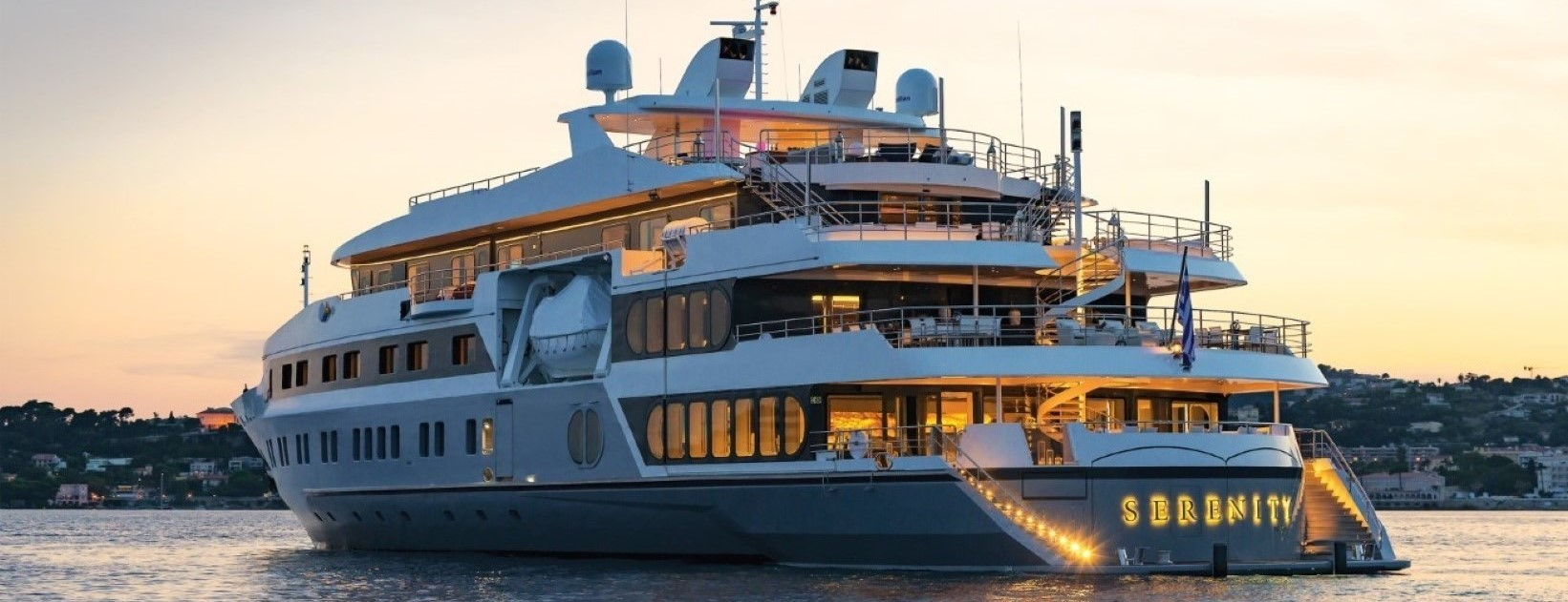 Yacht for events