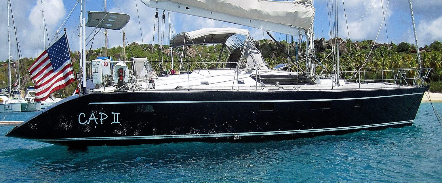 CAP II sailing yacht