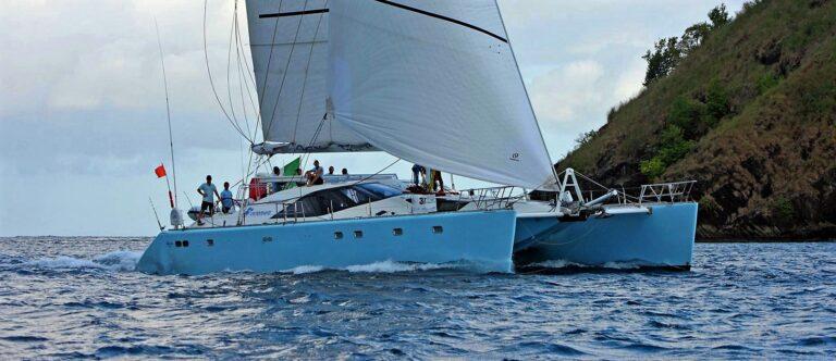 Sagittarious catamaran