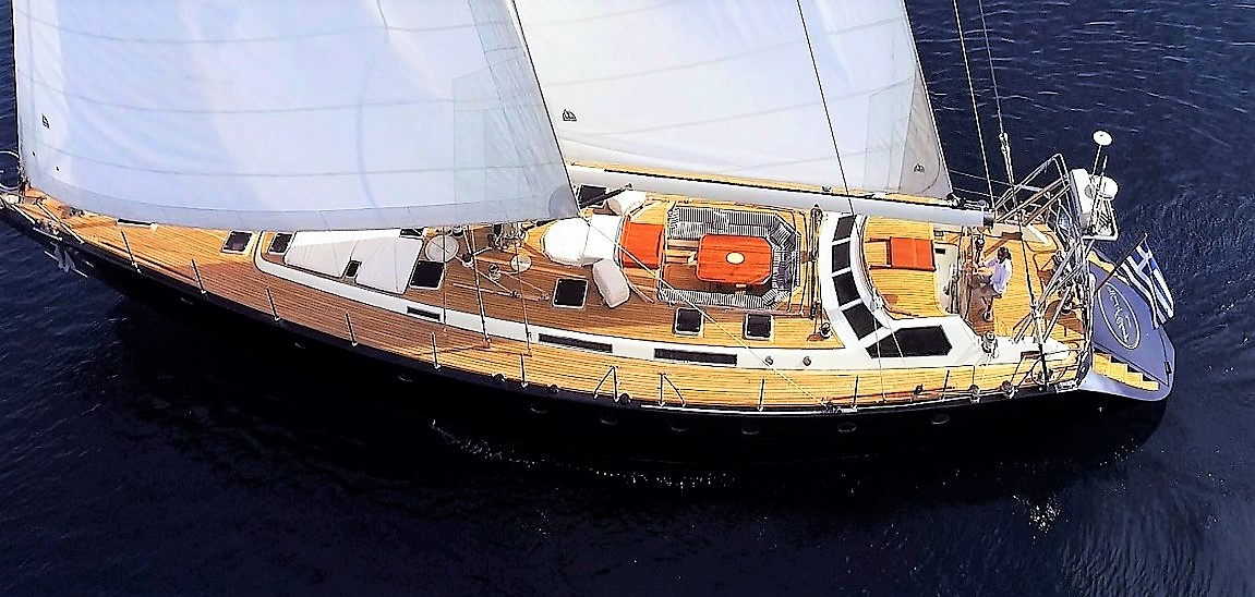 WIND OF CHANGE sailing yacht