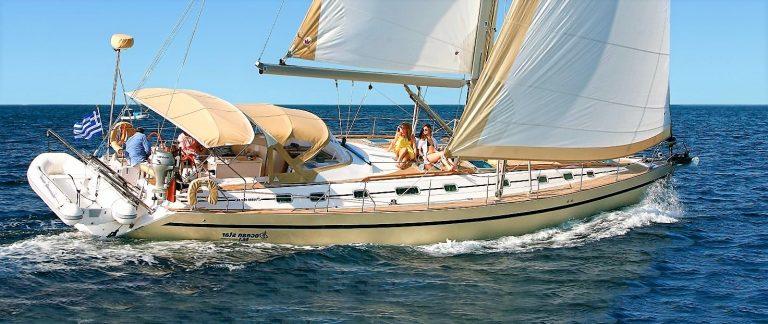 Mythos sailing yacht